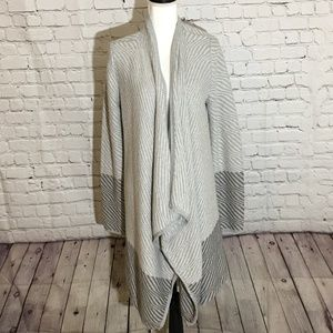Lucky Brand Waterfall Cardigan Open Front  FALL